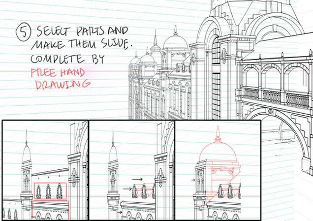 How to Draw Detailed Buildings