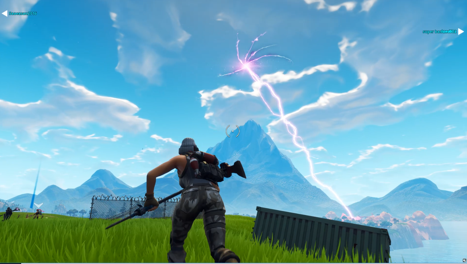 Fortnite's Rift Is Shooting Lightning And No One Knows Why [Update]