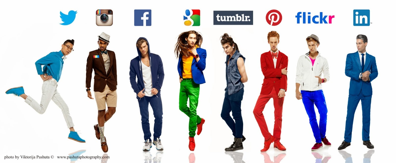 What If We Dressed Like Our Social Networks?