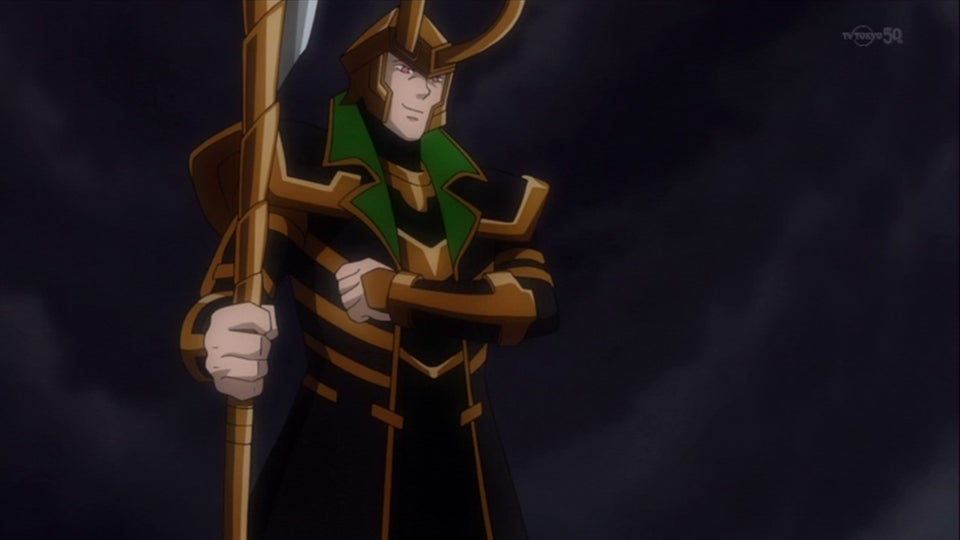 The Avengers (and other Marvel Heroes) in Their Official Anime Forms