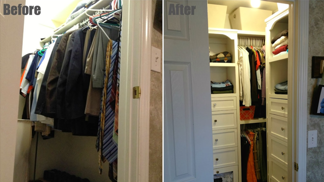 Build A Custom Wardrobe On The Cheap