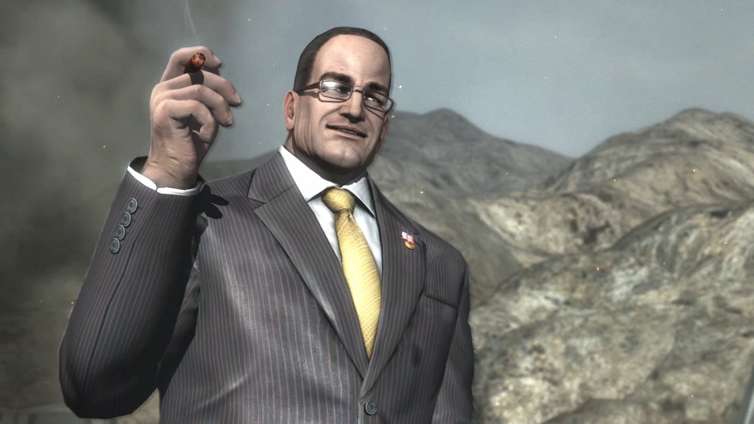 A Look Back On Metal Gear Rising's Last Boss, Who Wanted To Make America Great Again