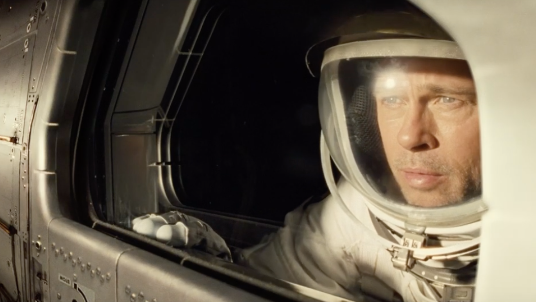 The New Ad Astra Trailer Amps Up Brad Pitt's Space Angst