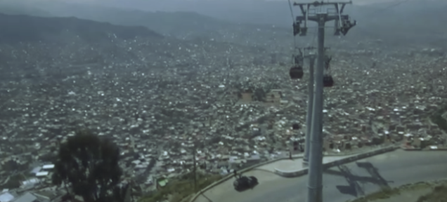 Linking the World's Highest Cities With The Longest Urban Cable Car