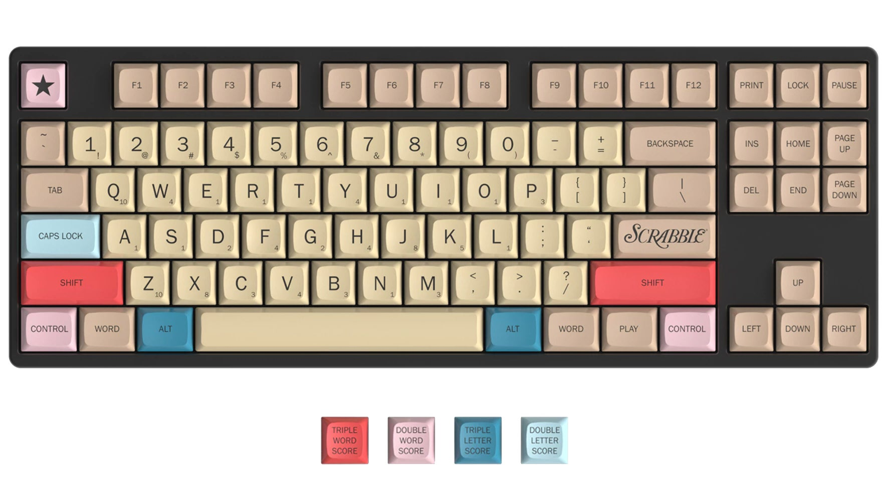 I Wish This Official Scrabble Keyboard Kept Score Of Every Email I Wrote