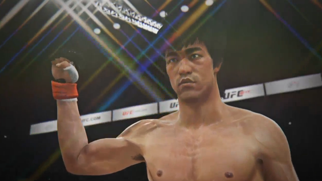 Putting Bruce Lee Against Real UFC Fighters Is Kinda Creepy, Guys