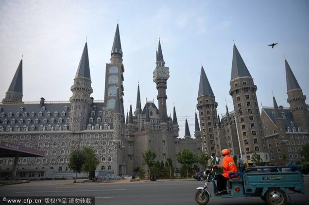 Chinese College Looks Like Hogwarts from Harry Potter