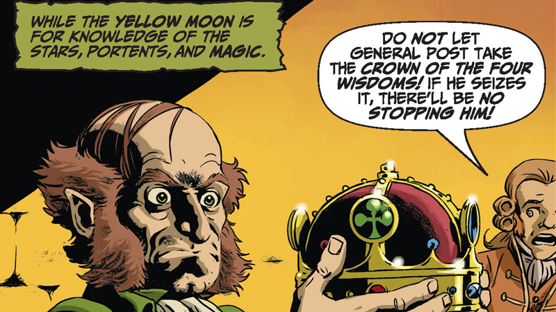 Some Not So Lucky Charms Are The Key To This Spooky Gothic Comic Tale