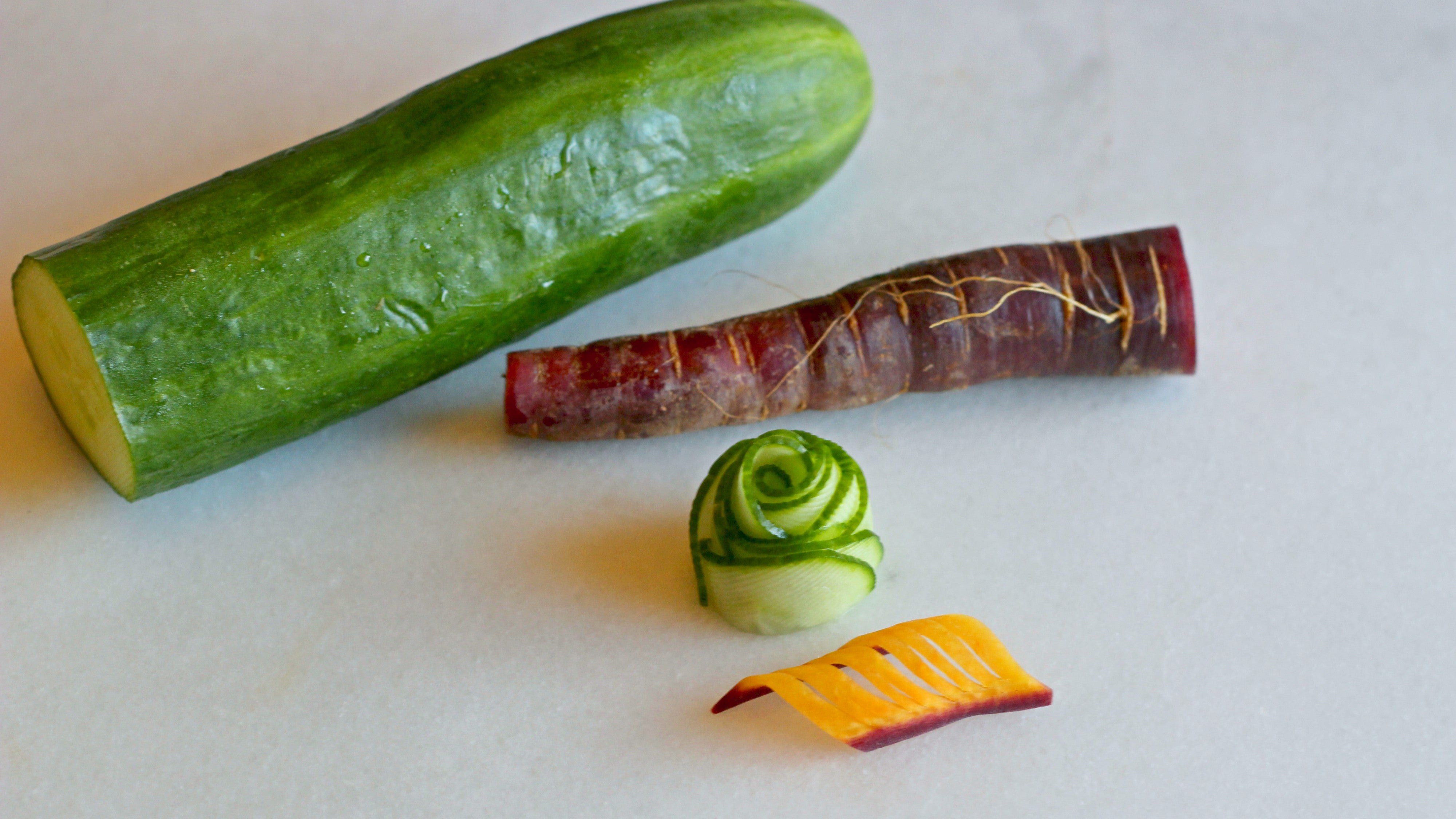 Beautiful, Edible Garnishes Anyone Can Make From Boring, Ugly Vegetables
