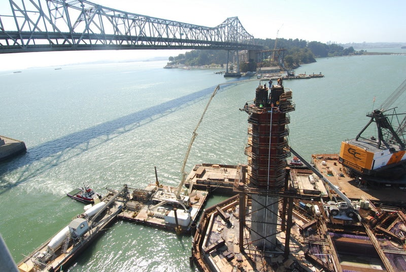 An Up-Close Look at the Monumental Task of Building a Bridge