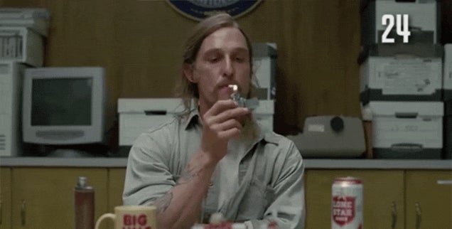 Just How Many Cigarettes Did Matthew McConaughey Smoke in True Detective?