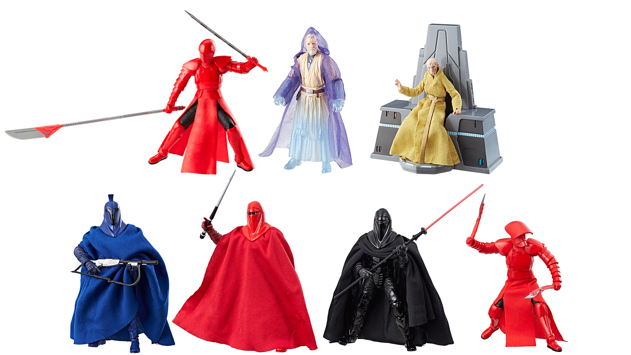An Exclusive Look At The Dark Side Of The New Star WarsAction Figures