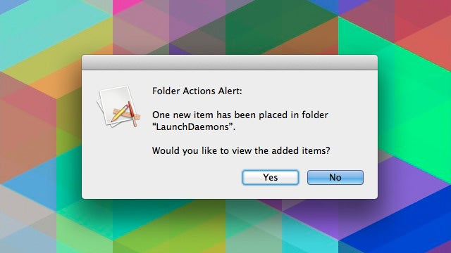 Roll Your Own Malware Detection on Mac with Folder Actions
