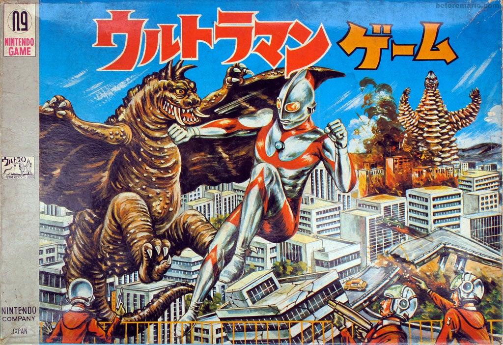 Nintendo's Kick-Arse 1966 Board Game
