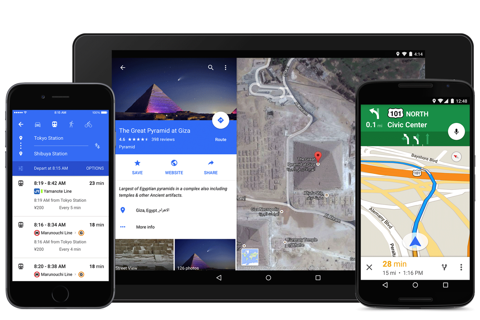 Google's Suave New Maps App Lets You Book Lunch Reservations