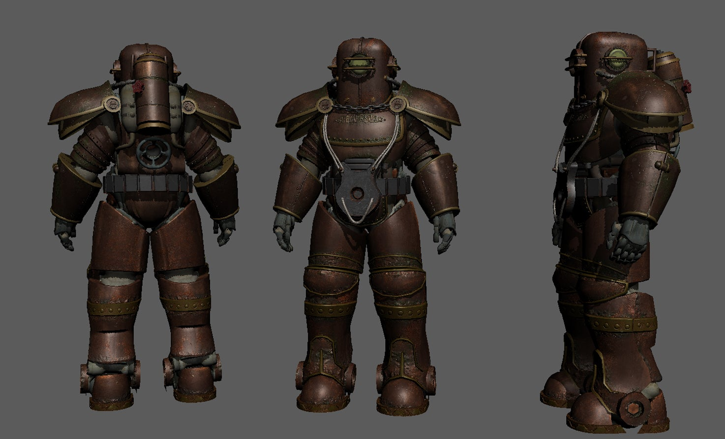 BioShock-Inspired Fallout 4 Armour Looks Great