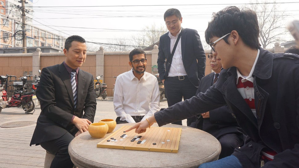 Google's AlphaGo Is About To Face Its Toughest Competition Yet