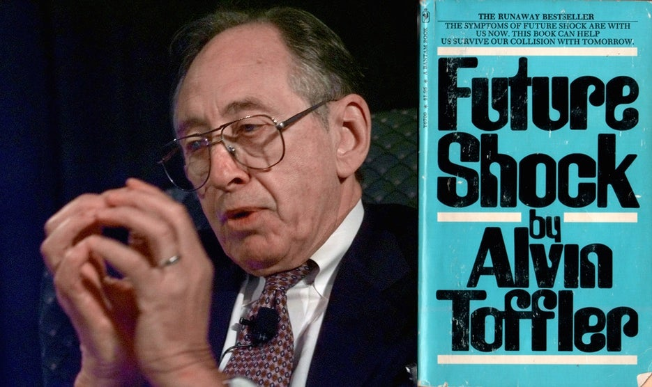 Alvin Toffler, Legendary Author Of Future Shock, Dies At 87