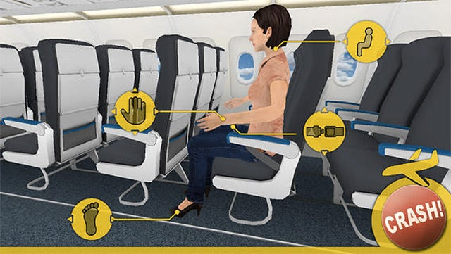 This Game Might Actually Get You To Learn In-Flight Safety Procedures