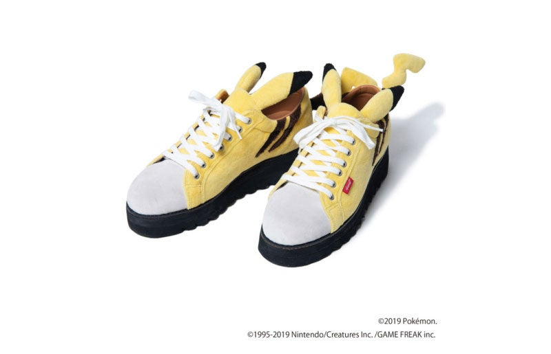 Look At These Pikachu Sneakers