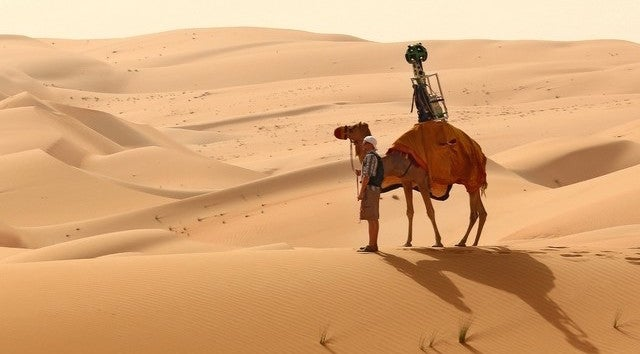 Screw Cars, Meet the Google Street View Camel