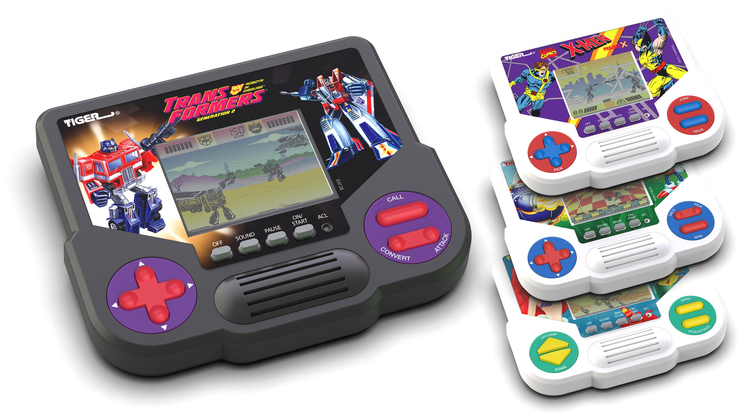 Hasbro Is Bringing Back Tiger Electronics' Handheld LCD Games