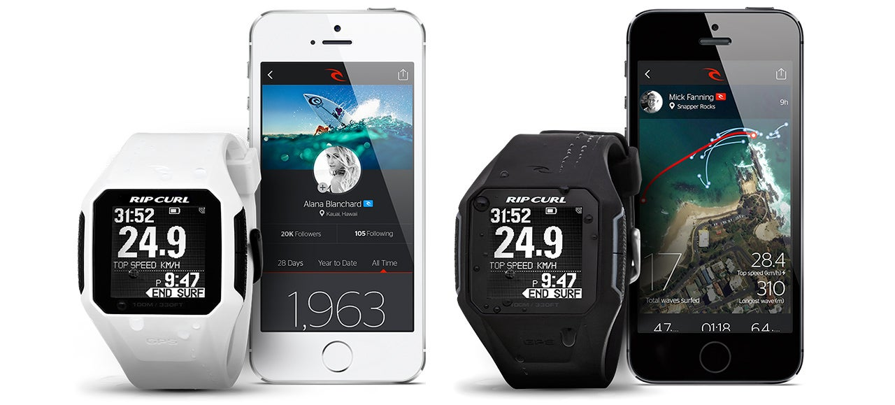 A GPS Surfer's Watch That Keeps Track of Every Wave Conquered