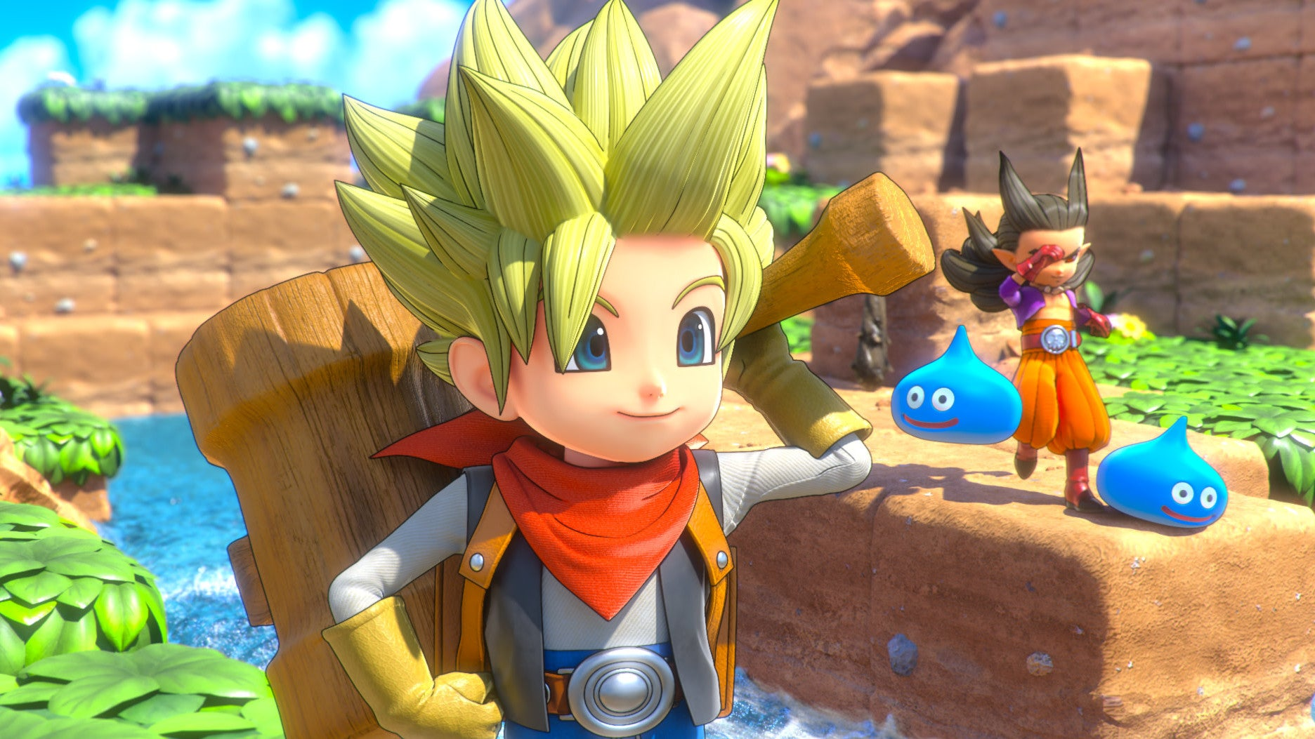 I Wasted My Life Trying To Climb A Dragon Quest Builders 2 Mountain When I Could Have Walked