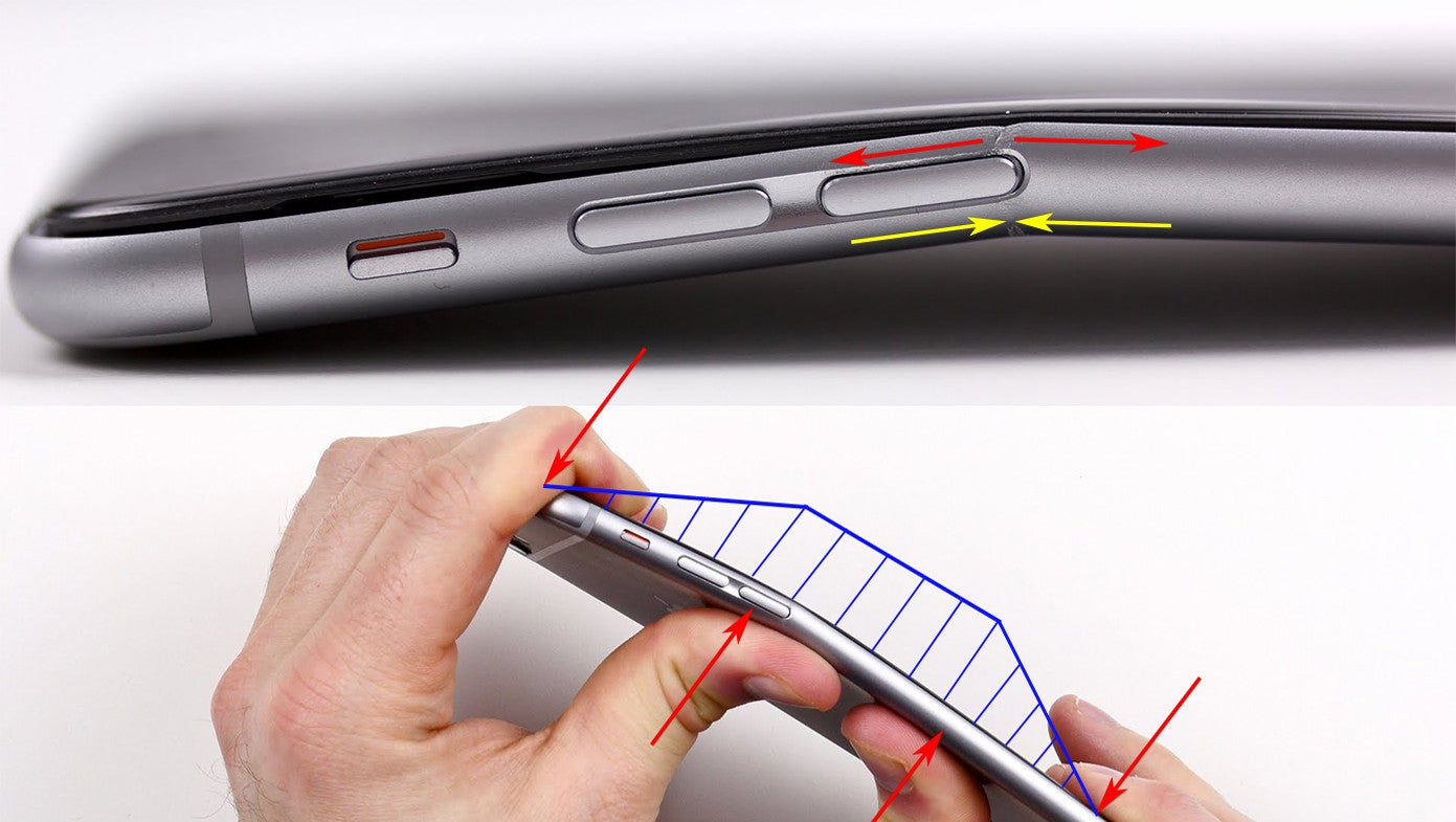 One Clever Explanation of Why the iPhone 6 Plus Might Bend