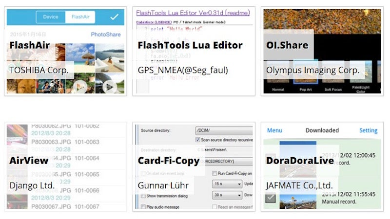 Simplify Using the FlashAir Wi-Fi SD Card with These Apps