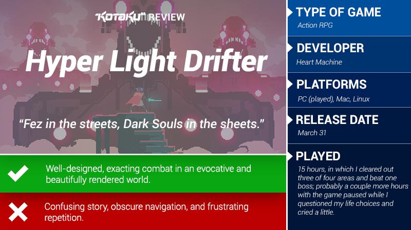 Hyper Light Drifter: The Kotaku Review