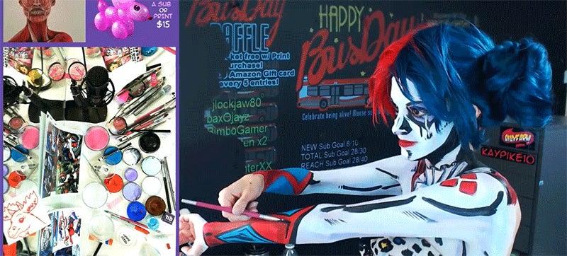 Watch This Makeup Artist Transform Into Harley Quinn