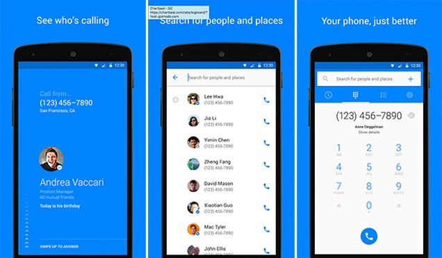 Facebook's Latest App Is a Dialer With Caller ID For Android
