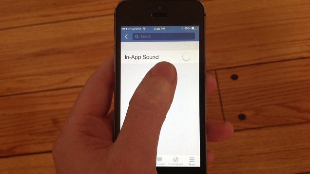 How to Turn Off the Annoying Chirping Sounds In the Facebook App