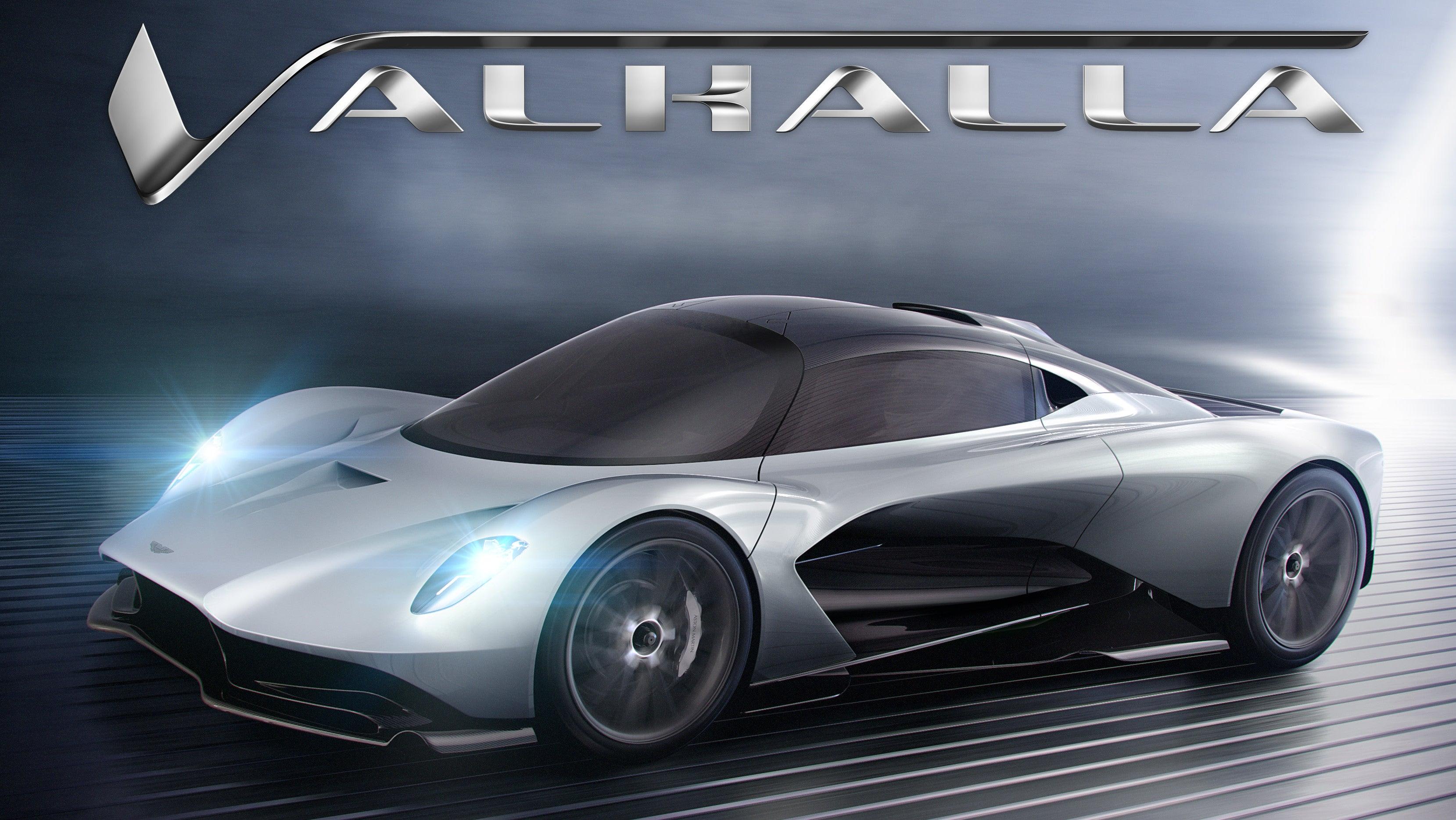 James Bond Will Drive The New Aston Martin Valhalla In Bond 25: Report