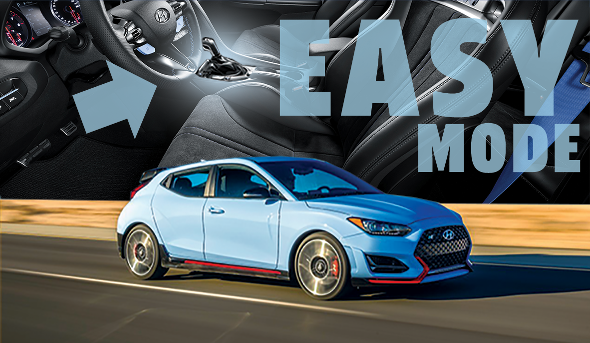 The 2021 Hyundai Veloster N Now Comes With Easy Mode