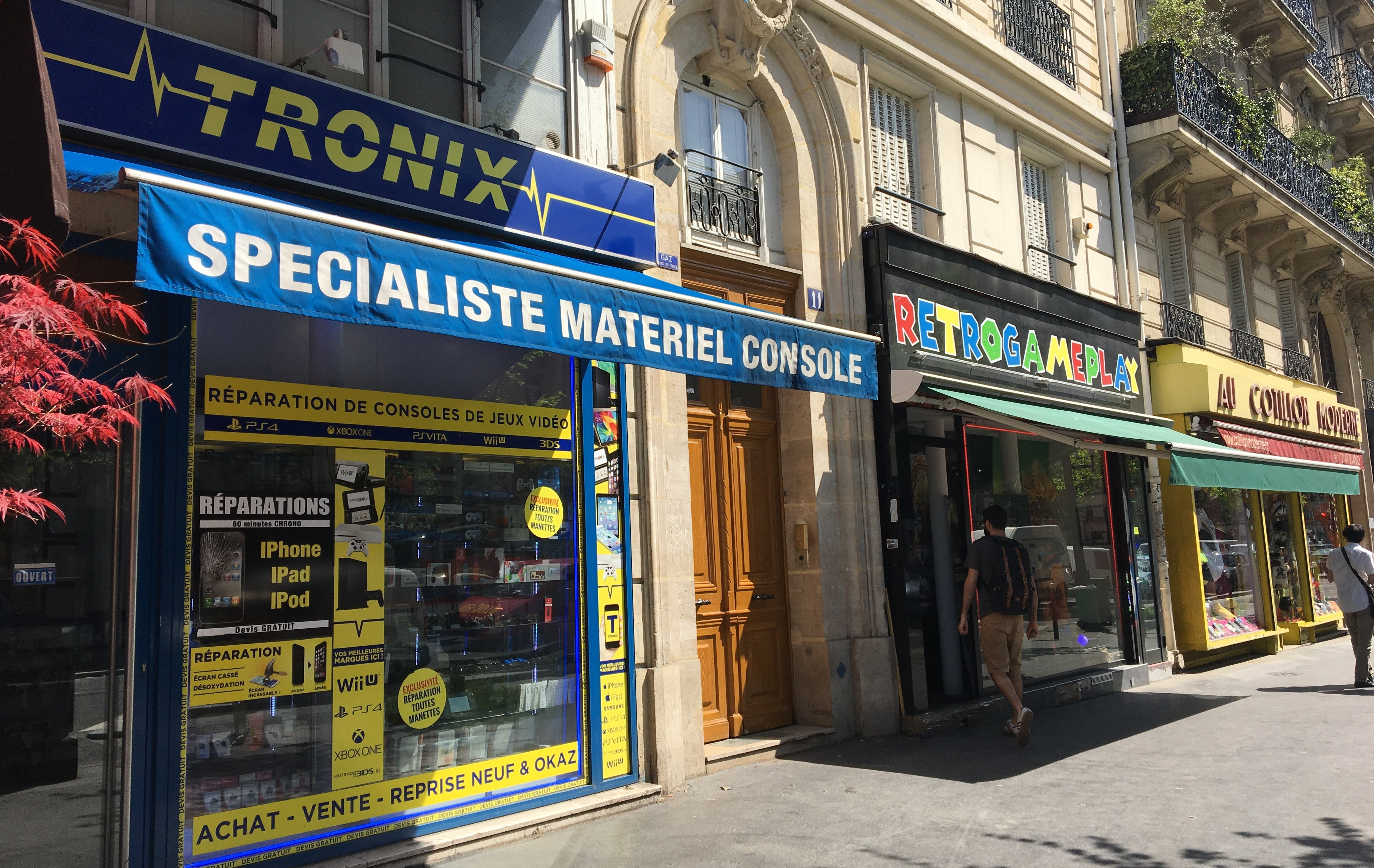 One Paris Street Has A Dozen Video Game Stores