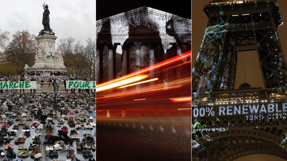 7 Installations Protesting Climate Change In Paris, Even If Actual Protesters Can't