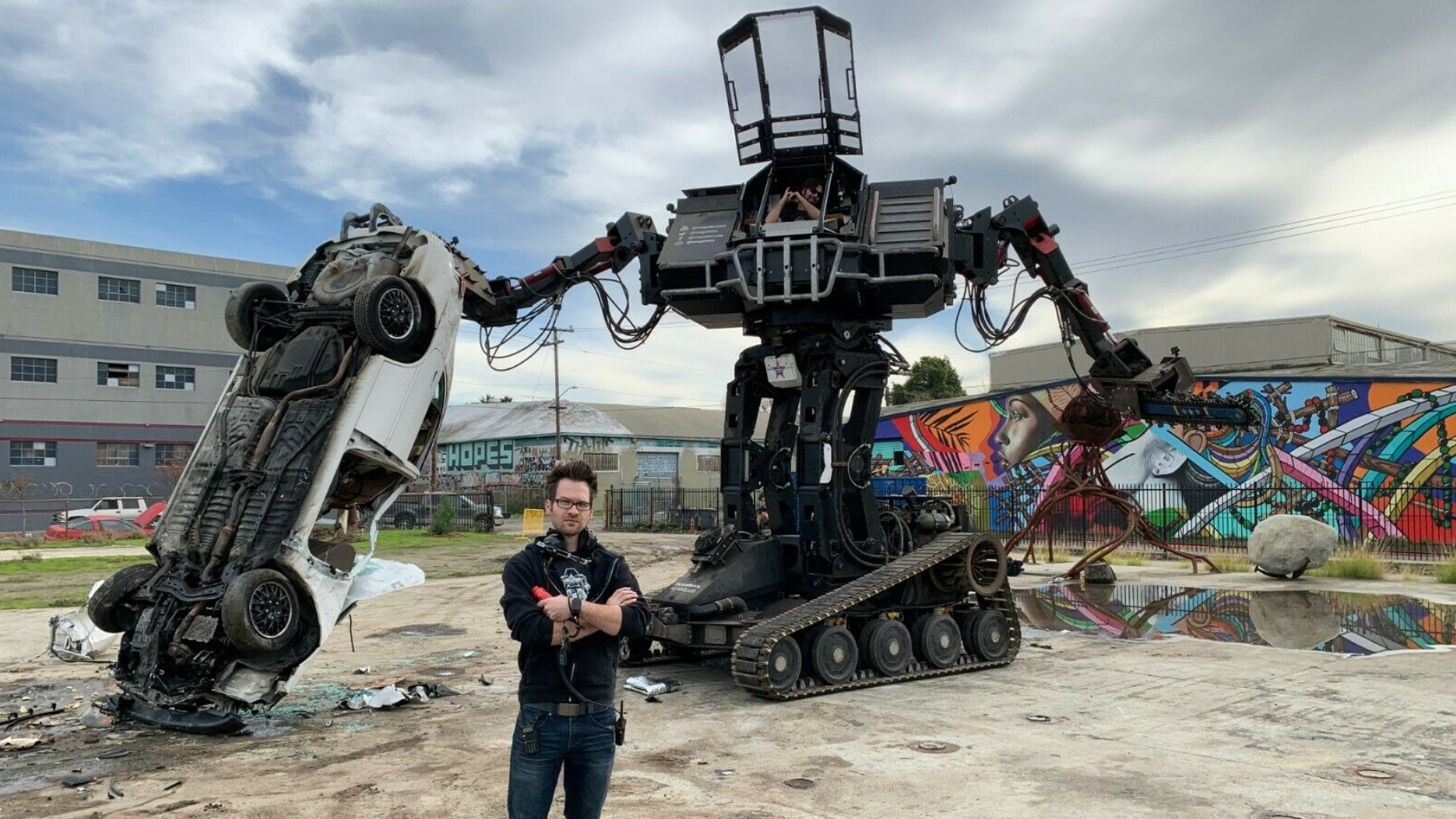 Megabots Throws In The Towel And Puts Battle Robots On Ebay