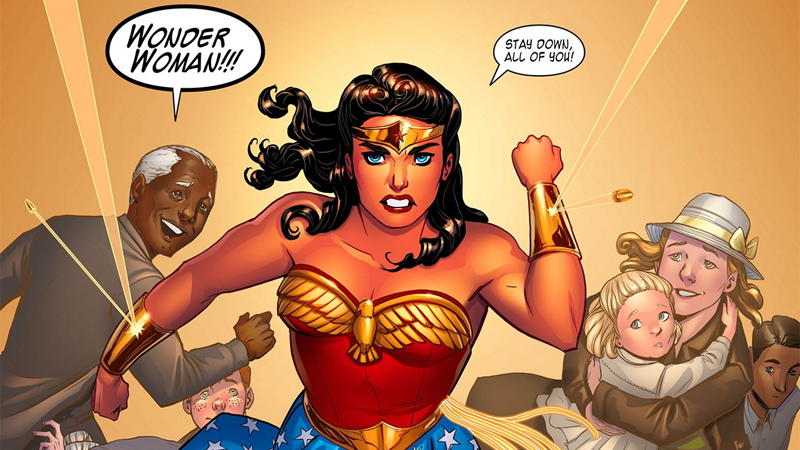 DC Has Cancelled The Phenomenal Legend Of Wonder Woman, Because 2016 Isn't Over Yet