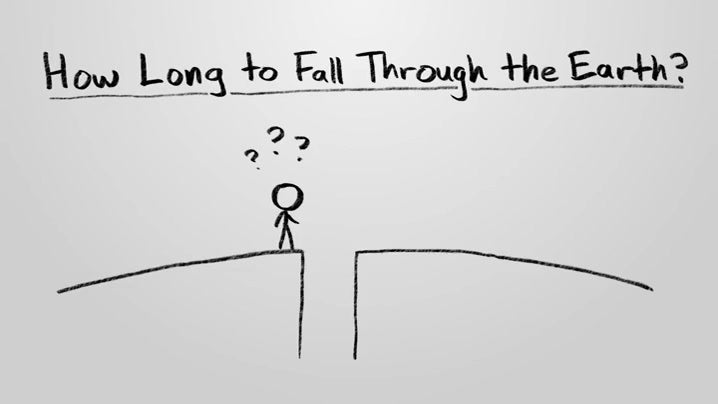 How Long Will It Take to Fall Through The Earth?
