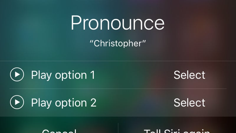 How to Teach Siri Better Pronunciation