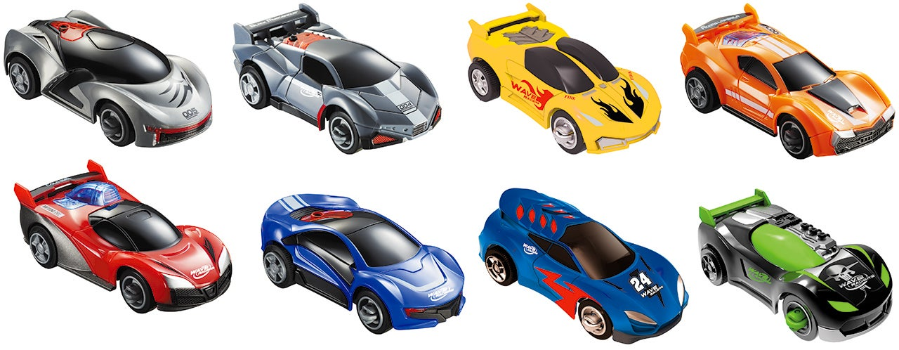 The Faster You Wave Your Hand, the Faster These Toy Cars Will Race