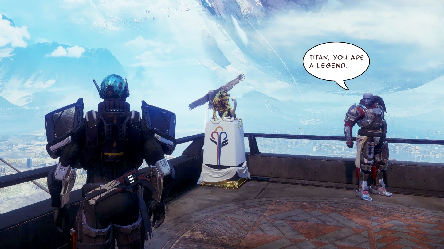 Titans Won Destiny 2's Guardian Games And All They Got Was This Tiny Statue