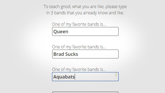 Gnoosic Gives Dead Simple Music Suggestions Based on Bands You Like