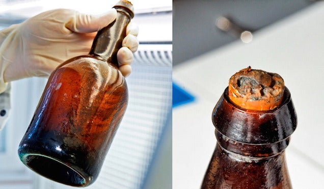 What a 170-Year-Old Beer Uncovered in a Shipwreck Really Tasted Like