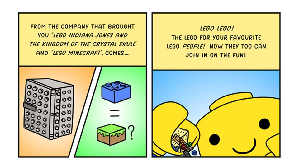 12/8/2014: Terrifying New Advances In Lego Technology