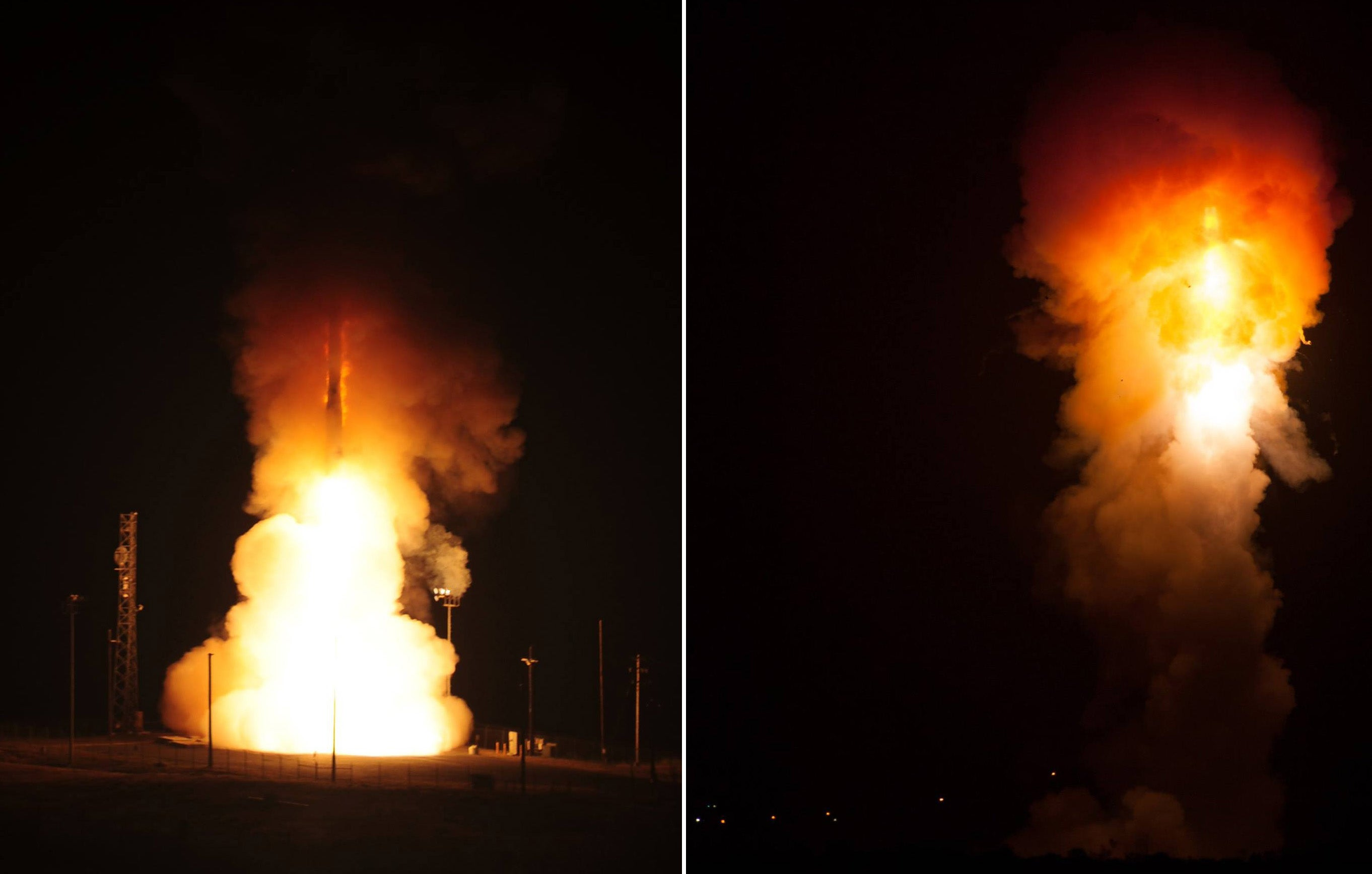 Check Out This Rare Smoke Ring Created By a Missile Launch