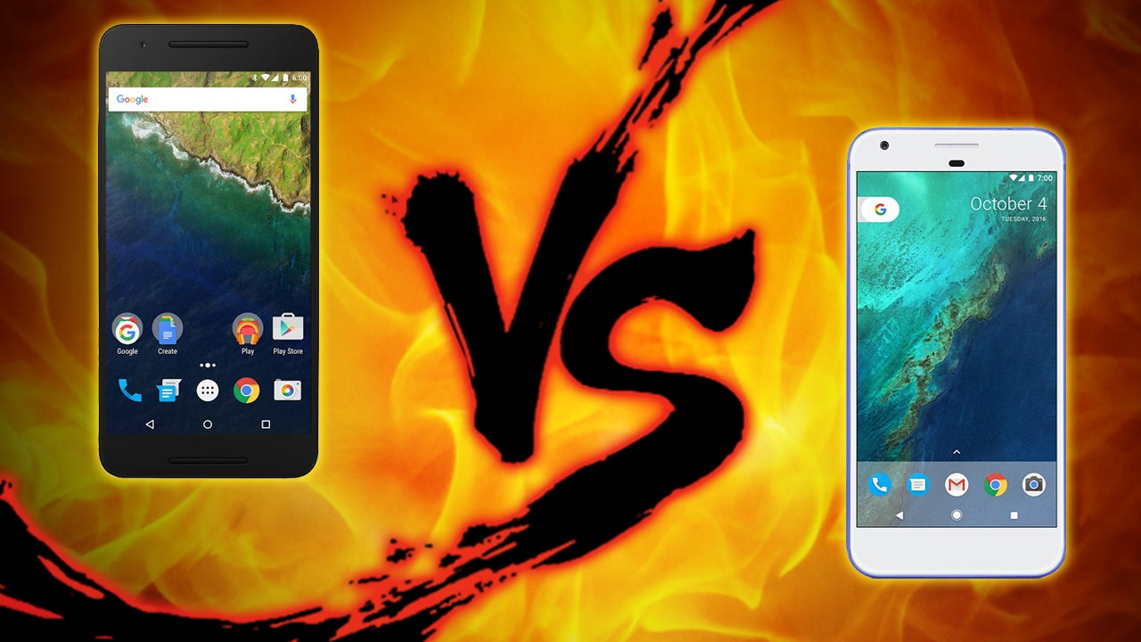 Google Phone Showdown: Nexus 6P vs. Pixel XL