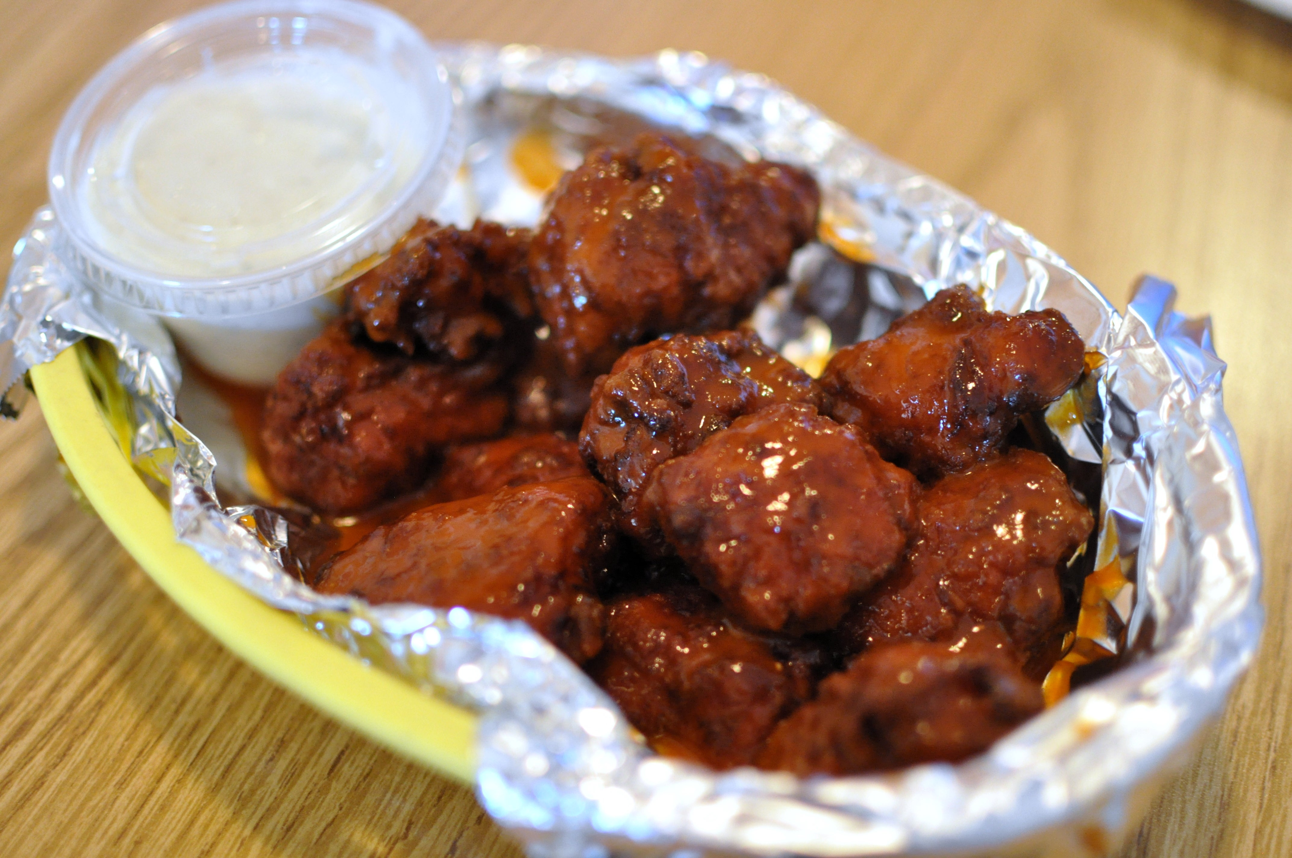 The Secret To Making Boneless Chicken Wings Is That They Aren't (Wings)